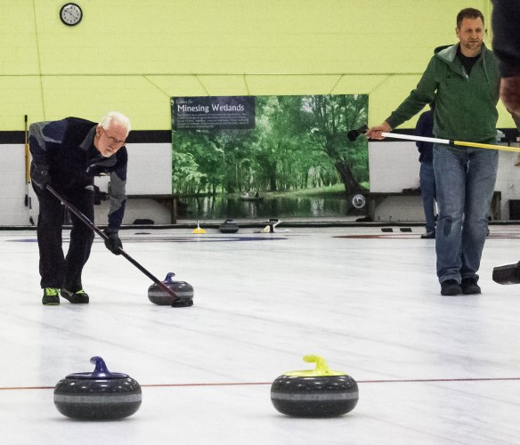 Curling for conservation